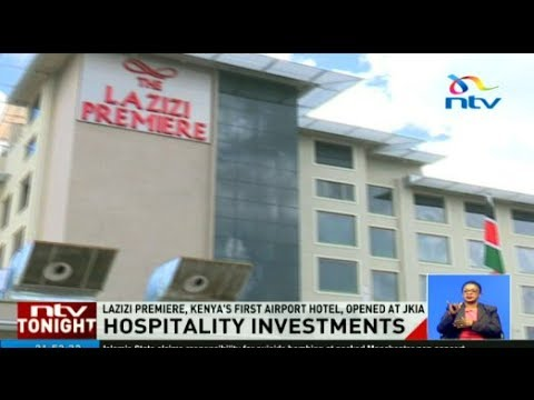 Kenya's first hotel inside an airport opens
