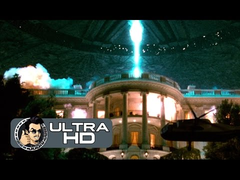 INDEPENDENCE DAY Movie Clip - First Attack (4K ULTRA HD) Will Smith, Jeff Goldblum