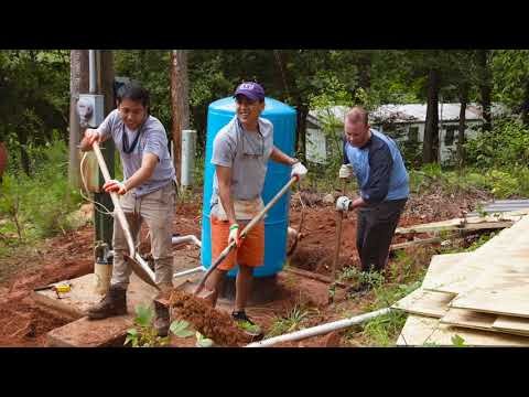 Xylem Watermark & Goulds Water Technology replace well houses & equipment in North Carolina