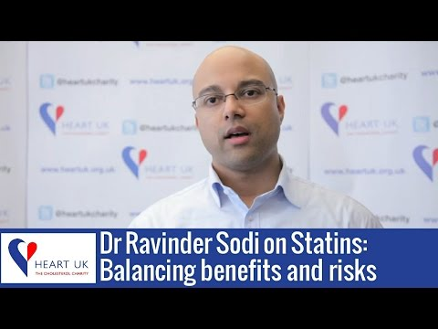 Balancing the benefits and risks of statins to treat high cholesterol by Dr Ravinder Sodi