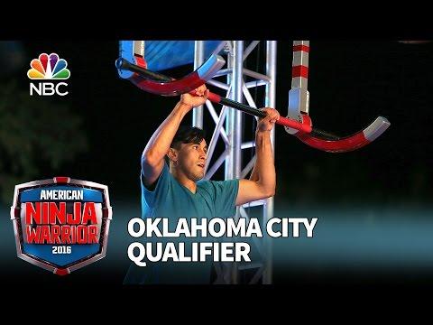 Kyle Mendoza at the Oklahoma City Qualifier - American Ninja Warrior 2016