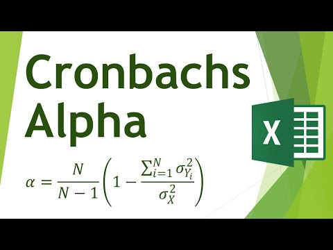 Cronbachs Alpha in