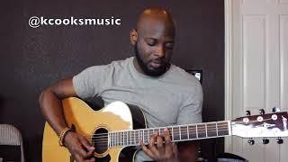 Kanye West - Violet Crimes Acoustic Guitar Tutorial
