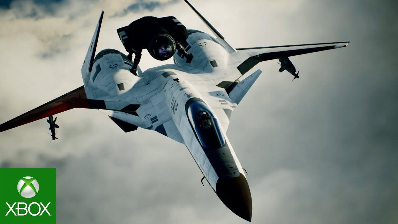 Ace Combat 7: Skies Unknown - Aircraft DLC 3 Trailer Aircraft ADFX-01 MORGAN