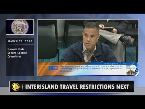 Hawaii Inter-island Travel Restrictions Next (Mar. 27, 2020)