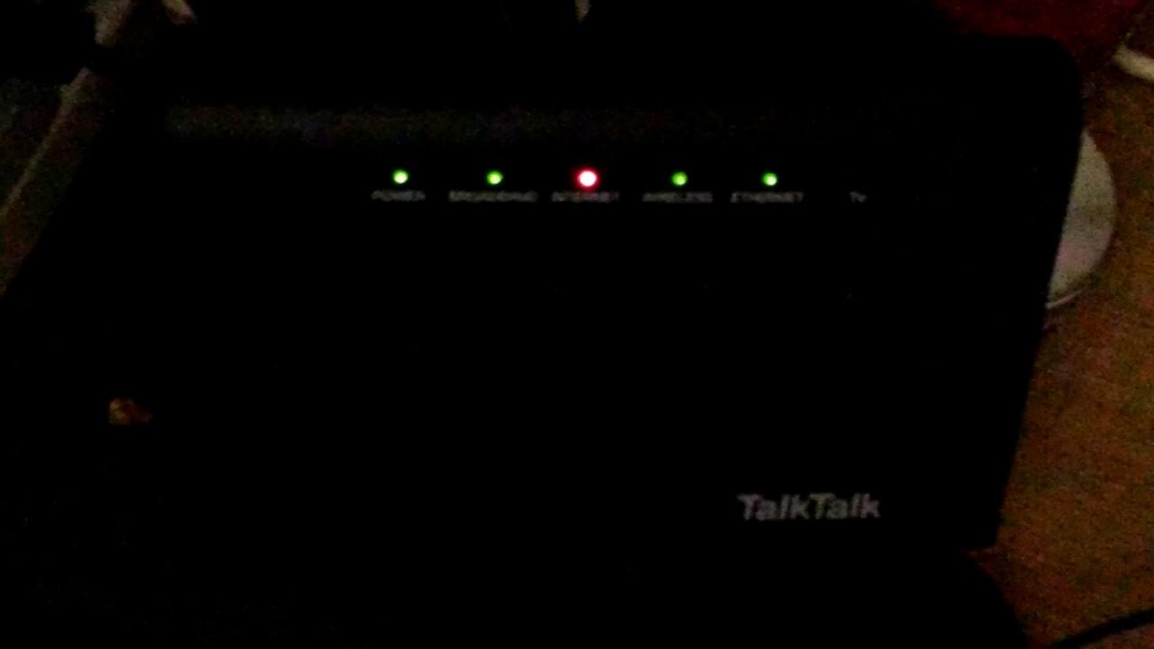 TalkTalk Router Issue???
