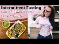 INTERMITTENT FASTING | What I Eat for Gut Health + My Supplements