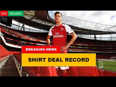 Arsenal Announce Record Shirt Deal with Emirates