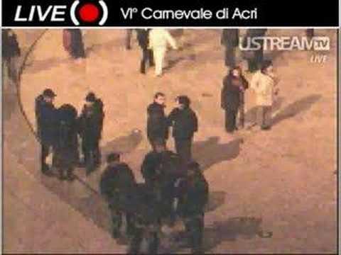 carnevale Acri (cs) live