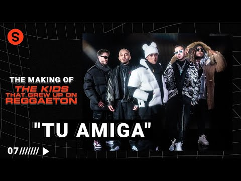 "The making of ""TU AMIGA"" con Tainy: un track de su EP 'The Kids that Grew Up on Reggaeton'"