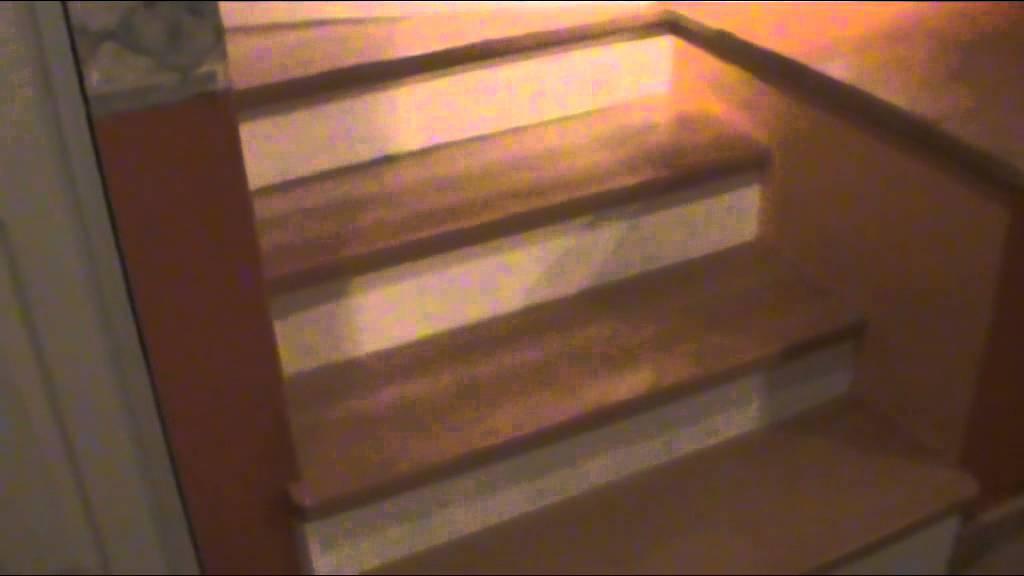 Escaleras de madera color haya youtube - Escalera de madera de pintor ...