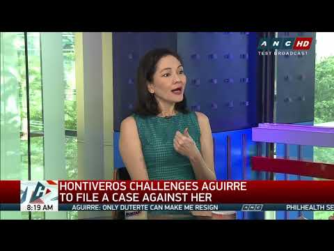 'Naglulutong-Macau': Hontiveros blasts Aguirre over text messages
