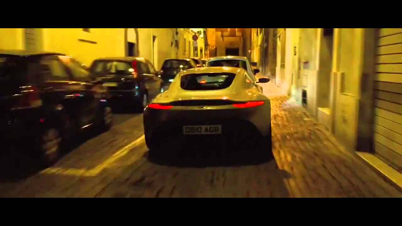 007 spectre- car chase scene - youtube