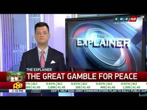 The Explainer: The great gamble for peace