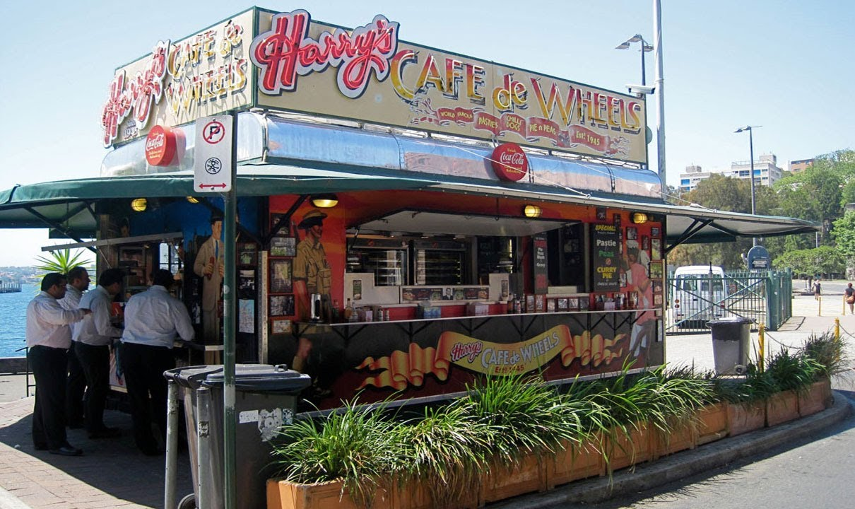 Image result for harry's cafe de wheels woolloomooloo
