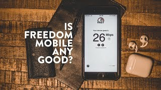rEVIEW: FREEDOM MOBILE after 5 Months with iPhone 8