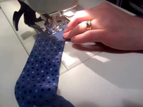 how to cut bias binding youtube