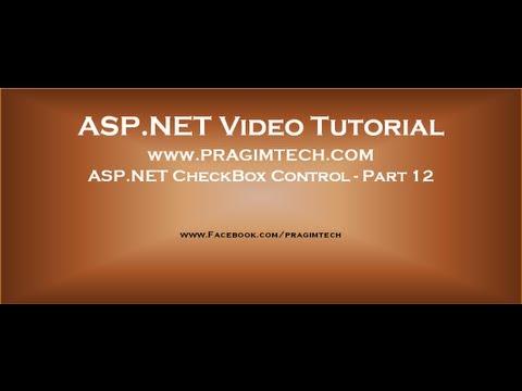 ASP NET CheckBox Control   Part 12