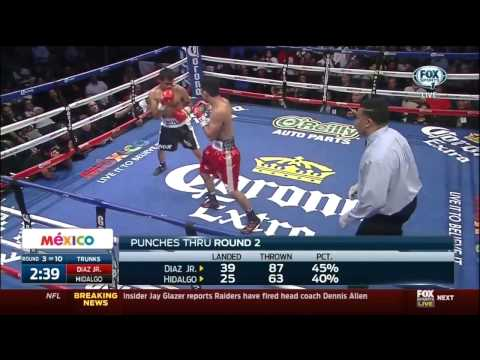 Joseph Diaz Vs Raul Hidalgo Full Fight 29-02-2015