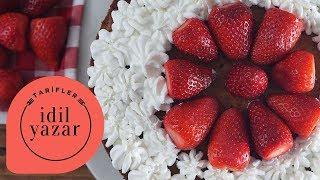 Çilekli Pasta Tarifi - İdil Yazar - Yemek Tarifleri