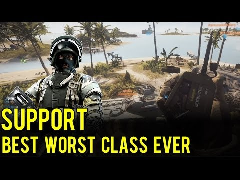 Support - The Best Worst Class Ever! - Battlefield 4