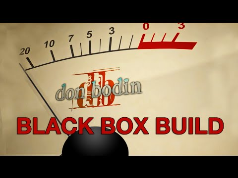 DB's Black Box Composer Computer Build for music recording a