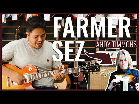 Andy Timmons - Farmer Sez - AMERICAN COUNTRY (Prof. Willian Silva Cover)