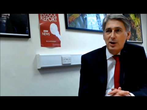 """FULLBROOK EXCLUSIVE - Philip Hammond: """"I wanted to be a policeman"""""""