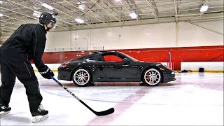 PORSCHE'S ON ICE with 13 Year Old ROCKET RYO
