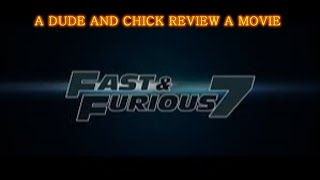 FAST & FURIOUS 7 | Paul Walker's Last Movie | Movie Review #23