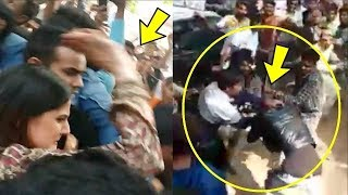 Zareen Khan Slaps Fans For Gropping Her In Middle Of A Street
