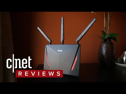Asus AC2900 dual-band Wi-Fi router (RT-AC86U) review: Speed with options
