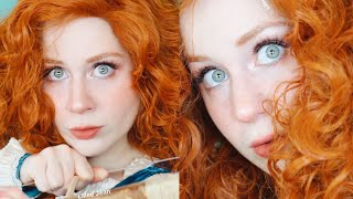 MERIDA Brave Disney Princess Makeup Tutorial Cosplay 2020 | Lillee Jean