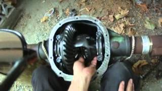 axle 2003 removal  crown vic Fords