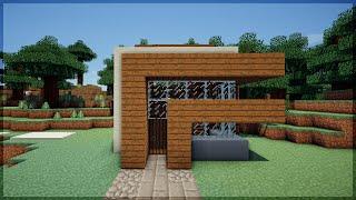 Minecraft: CONSTRUA UMA CASA MODERNA EM 5 MINUTOS! 2 (NO SURVIVAL)