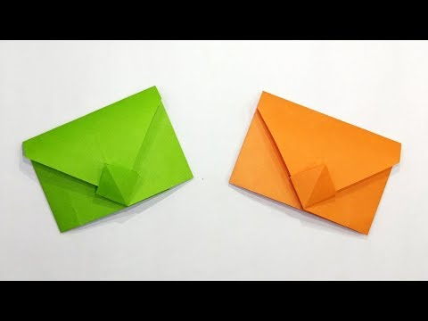 How To Make Paper Envelop Without Tape Or Glue