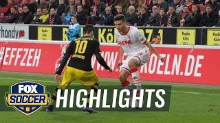 Video Gol Pertandingan FC Koln vs Borussia Dortmund