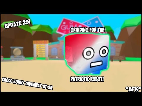 *NEW* UPDATE 29 GRINDING THE PATRIOTIC EGG! (NO TALKING)