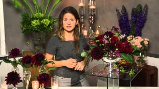 Ideas for Wedding Table Flower Arrangements : Flower Power