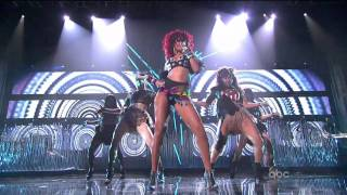 Rihanna - What's My Name + Only Girl (In The World) (American Music Awards 2010) HD 720 Video