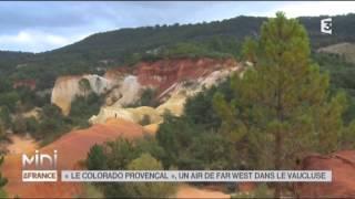 """SUIVEZ LE GUIDE : """"Le Colorado provençal"""", un air de Far West dans le Vaucluse"""
