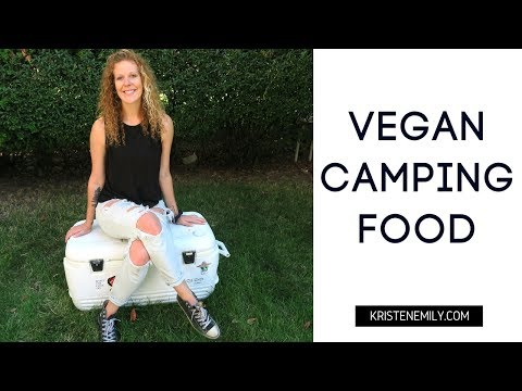 VEGAN CAMPING | What To Pack In Your Cooler #1