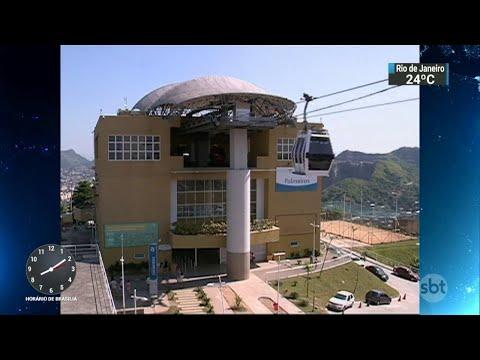 Teleféricos estão parados no Rio de Janeiro há mais de um ano | SBT Brasil (20/04/18)