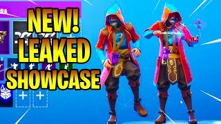 *NEW* Leaked CASTOR Skin With New Dance Emotes Fortnite Battle Royale
