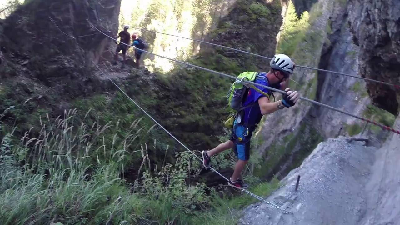 Klettersteig Austria : Via ferrata klettersteig austria youtube