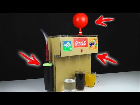 Thumbnail: How to Make Coca Cola Soda Fountain Machine Using 3 Different WAYS