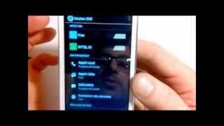 Wiko Cink Peax test gestion des cartes SIM