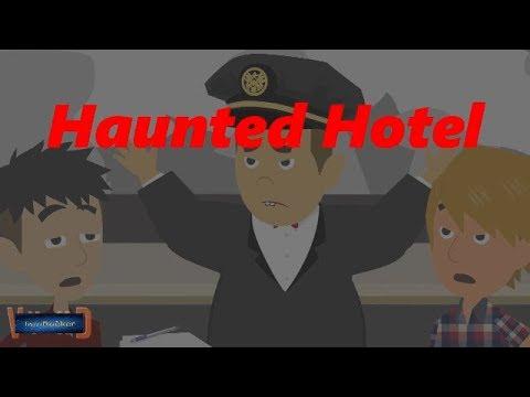Haunted Hotel-Real Story (Animated in Hindi)  IamRocker 