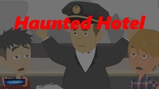 Haunted Hotel-Real Story (Animated in Hindi) |IamRocker|