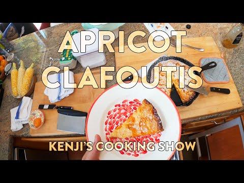 Apricot Clafoutis   Kenji's Cooking Show